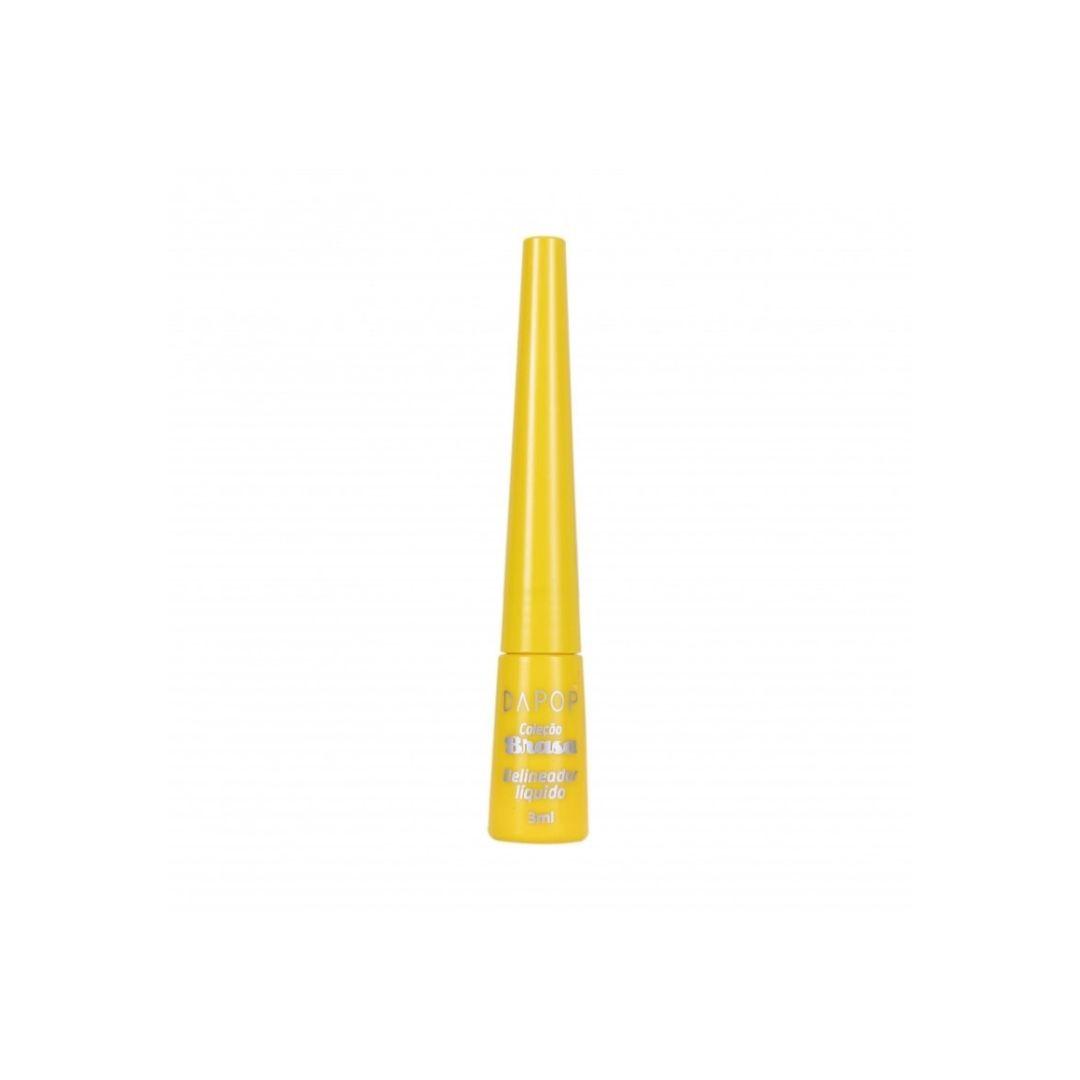Delineador líquido coleção brasa amarelo DaPop