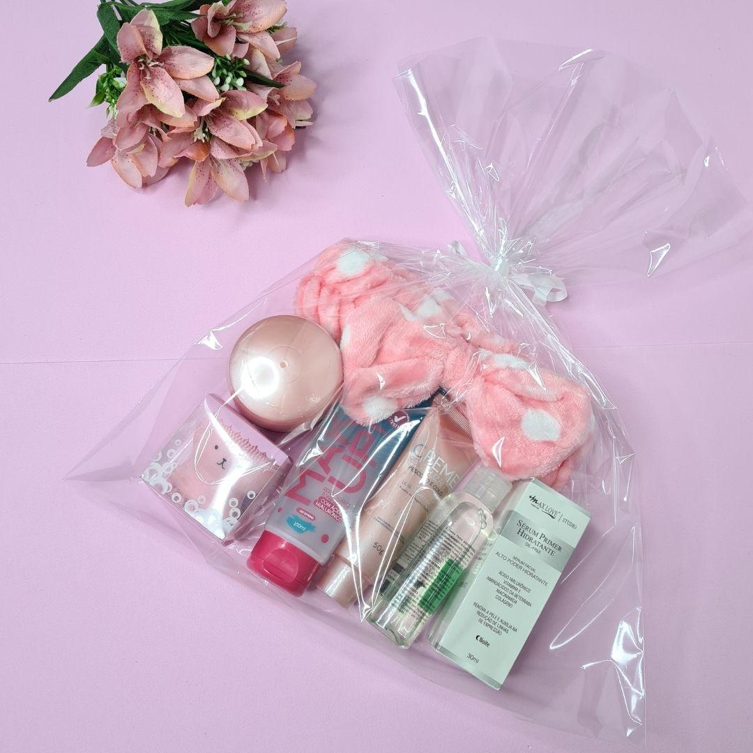 Kit de skincare para pele seca