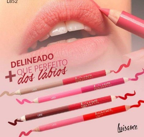Lápis para contorno labial matte Luisance