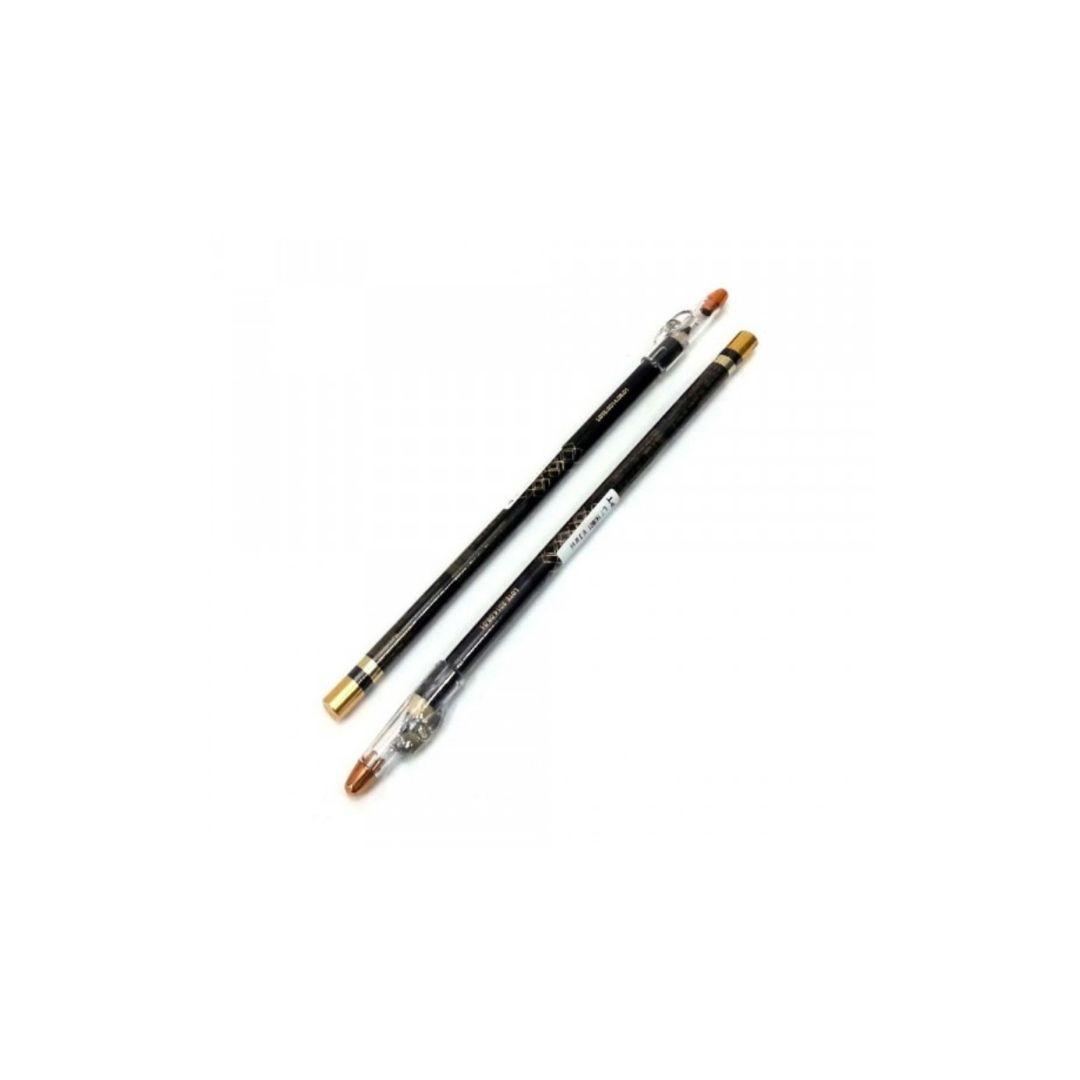 Lápis preto para olhos a Prova d'água com apontador Lebruce
