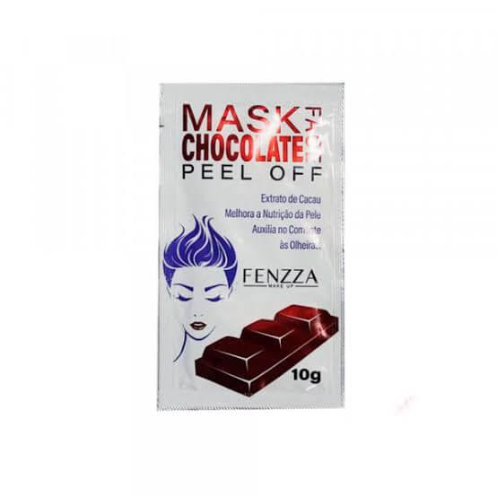 Máscara sachê chocolate Peel Off Fenzza