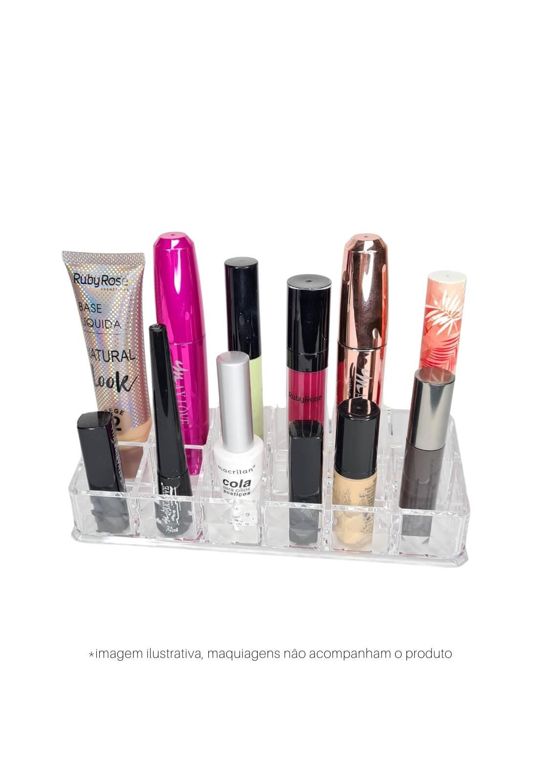 Organizador de maquiagens porta batom