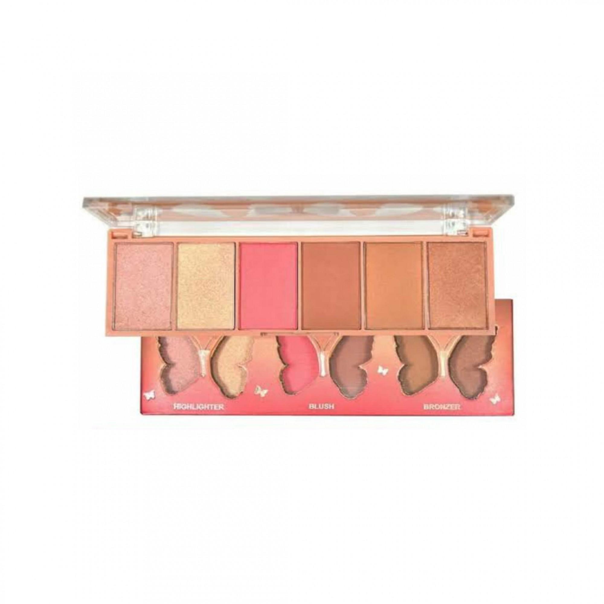 Paleta de contorno Highlighter blush bronzer Ruby Rose