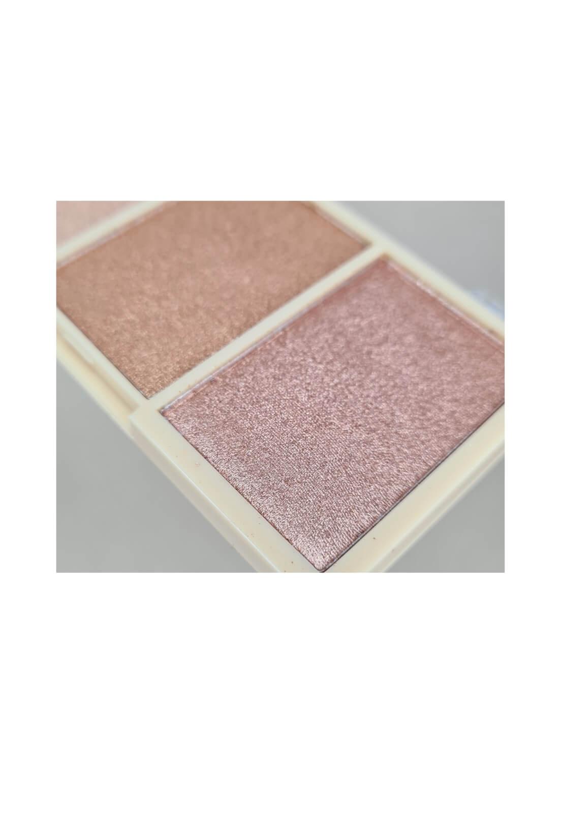Paleta de iluminador Ruby Rose Glowing mini kit cor 2