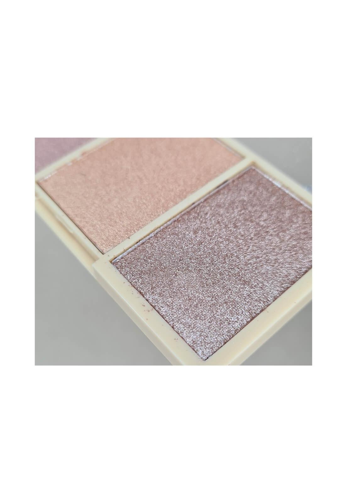 Paleta de iluminador Ruby Rose Glowing mini kit cor 3