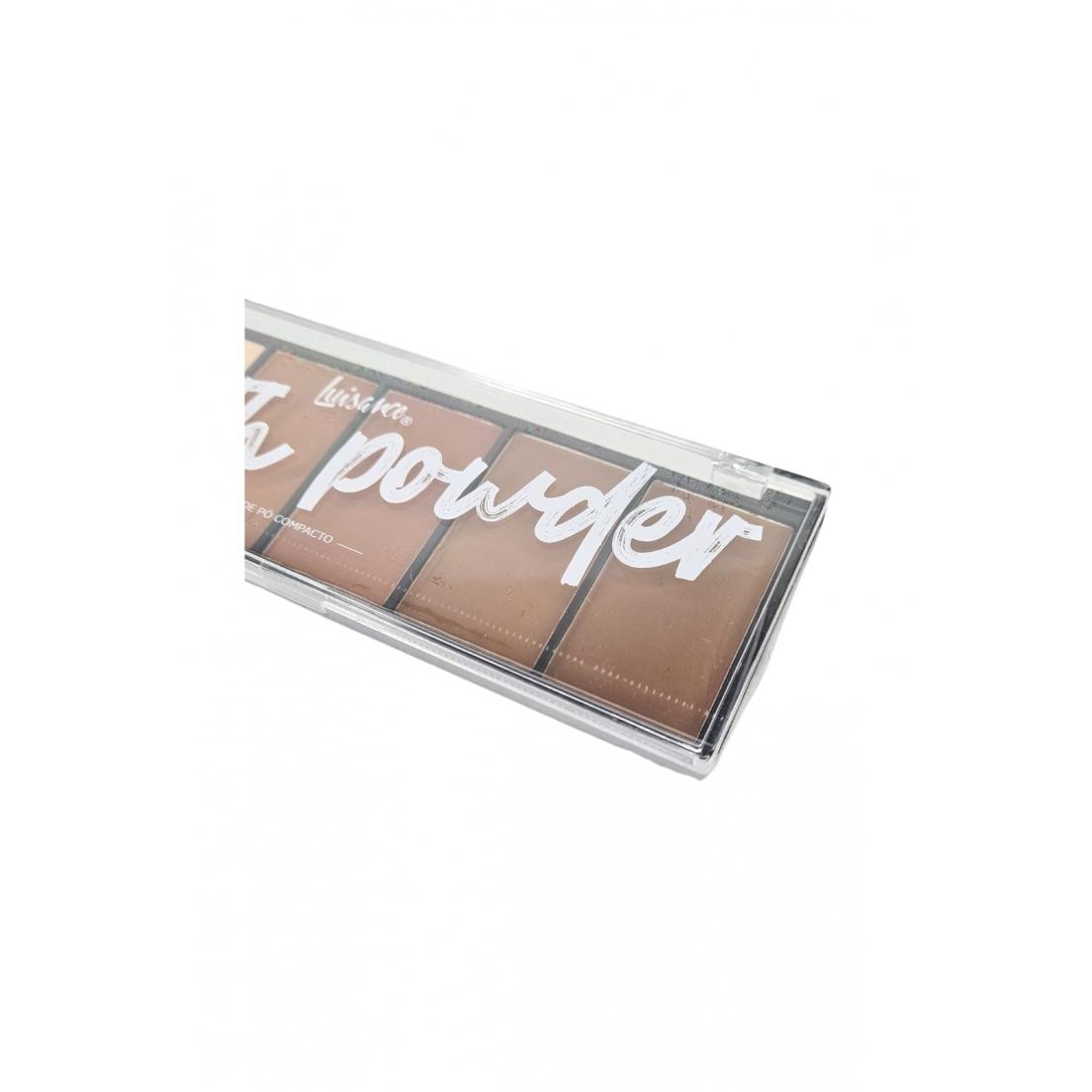 Paleta de pó compacto Smooth Power Luisance