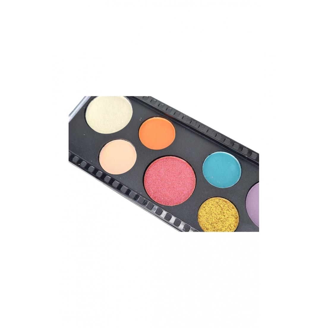 Paleta de sombras Gleam on the go SP Colors