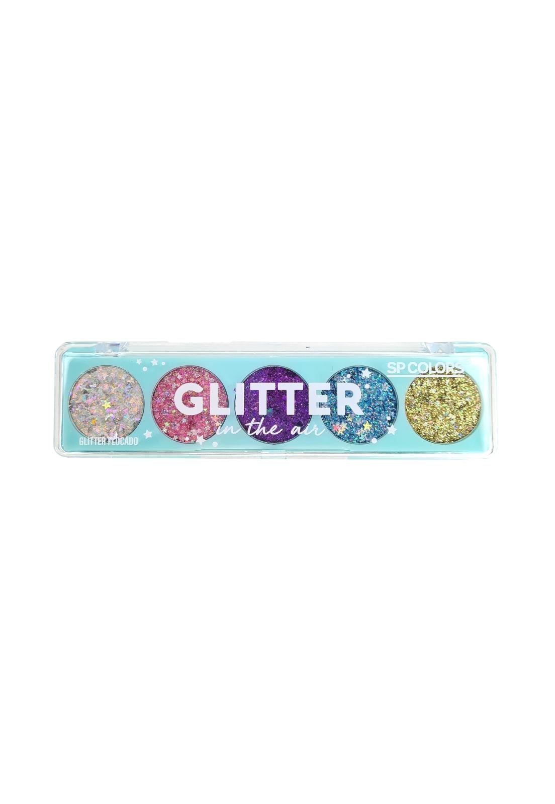 Paleta glitter in the air SP Colors
