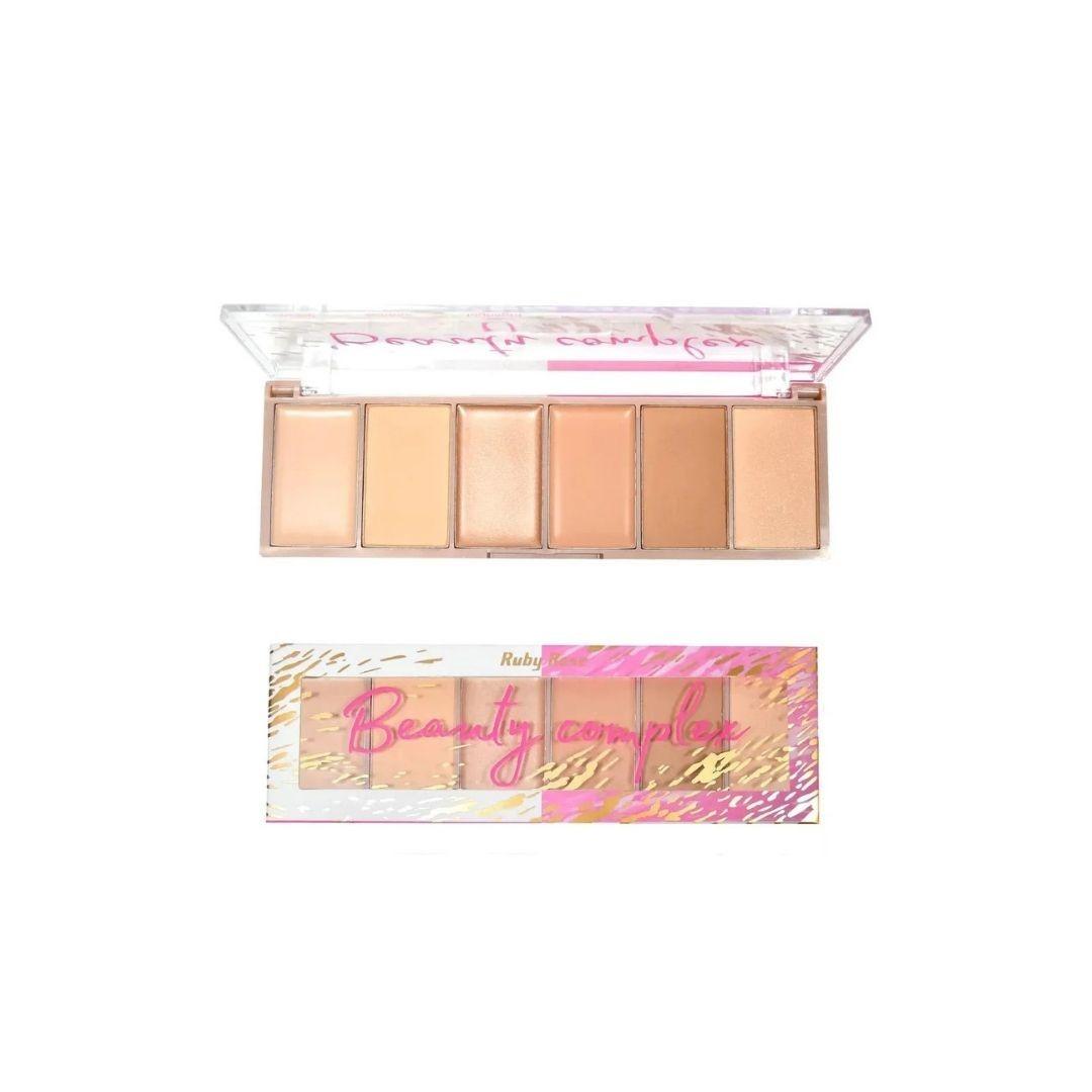 Paleta para contorno Beauty Complex Ruby Rose