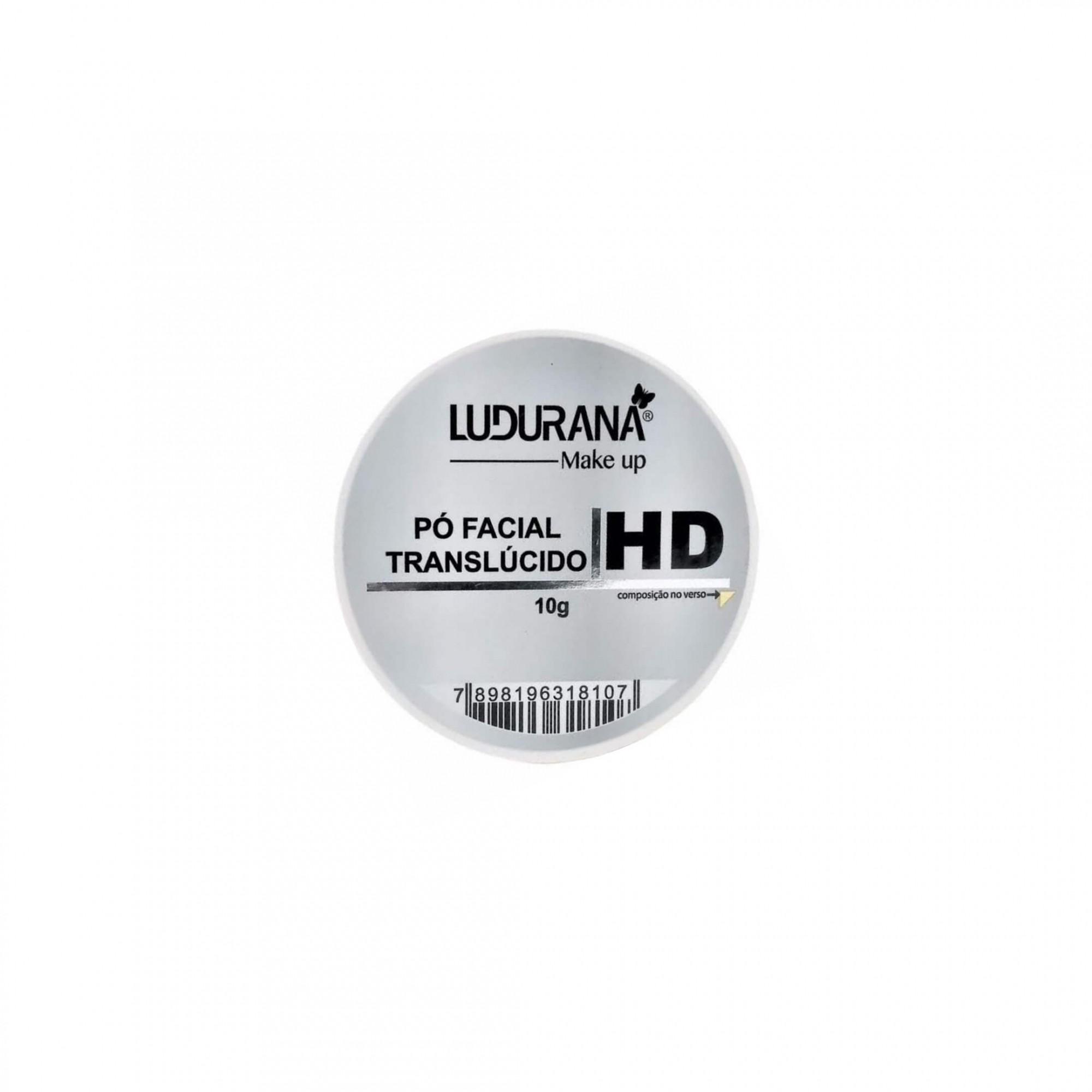 Pó facial translúcido HD Ludurana