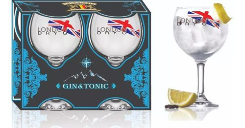 Taça GinTônic London 600 ml com 2 Unidades