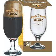 Taça Floripa Beer Filete Ouro 300 ml Caixa Para Presente