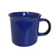 Caneca em Porcelana Lyor Agata 70ml Azul