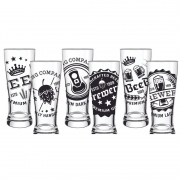 Conjunto 6 Copos Braminha Brewery Beer 300ml