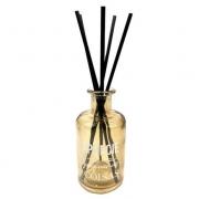 Frasco Amarelo de Vidro 250 ml com Vareta- Difusor de Ambiente