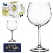 Jogo de Taça de Cristal Gin Com 2 Unidades Bohemia 620ml