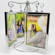 Porta Retrato Metal Pendulo C/ 8 Fotos 10cm X 15cm