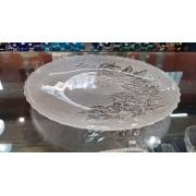 Prato Raso em Vidro Kig Pudim / Bolo 30 cm