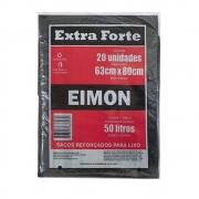 Saco Lixo 50L Ext Forte - 10 Pcts com 20 Sacos