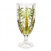 Taça de Cristal Palm Handpaint 450ml