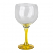 Taça Gin Tônic Base Color Amarelo  Bora Bora 600 ml
