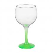 Taça Gin Tônic em Vidro Base Color Verde Neon 600 ml