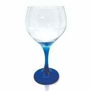 Taça Gin Tônic Base Color Azul Bora Bora 600 ml