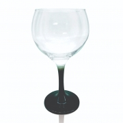 Taça Gin Tônic Base Color Preto Bora Bora 600 ml