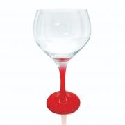 Taça Gin Tônic Base Color Vermelha Bora Bora 600ml