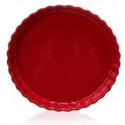 Tarteira Vermelha em Cerâmica