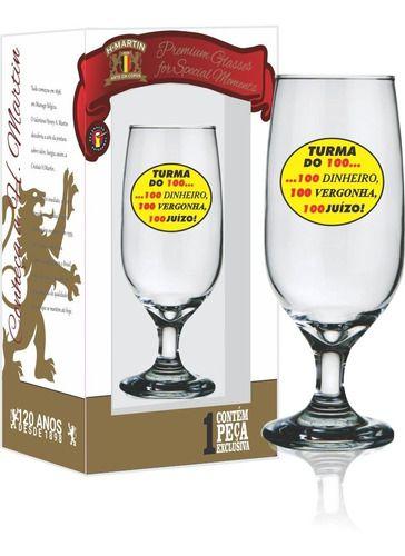 Taça Floripa Turma dos 100 300 ml 1 Unidade