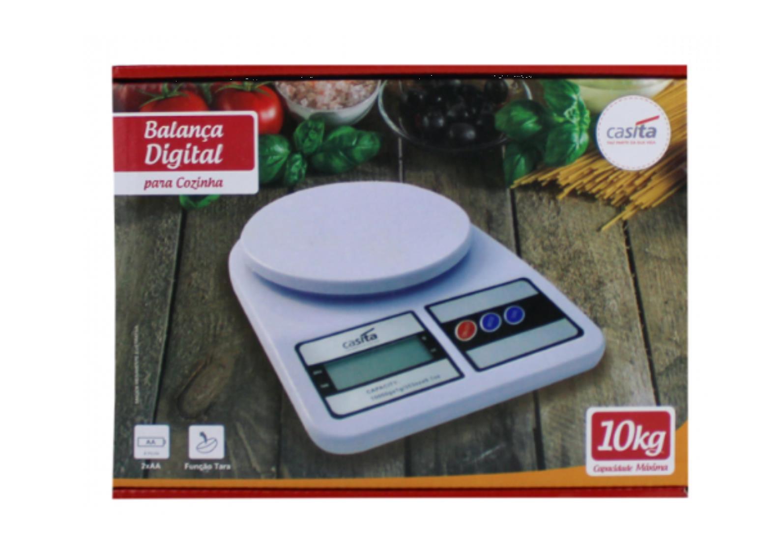 Balanca Digital De Cozinha 10Kg