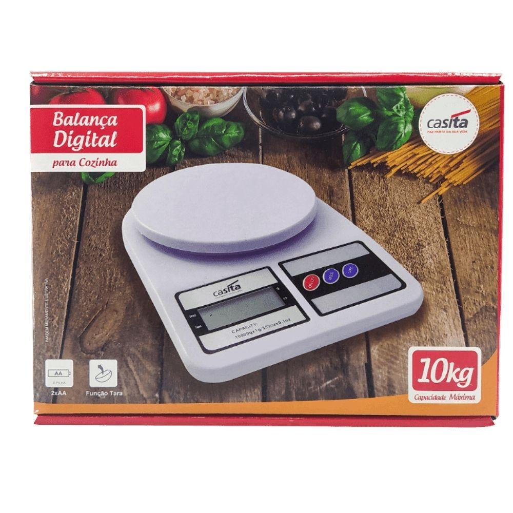 Balanca Digital De Cozinha 10Kg Casita