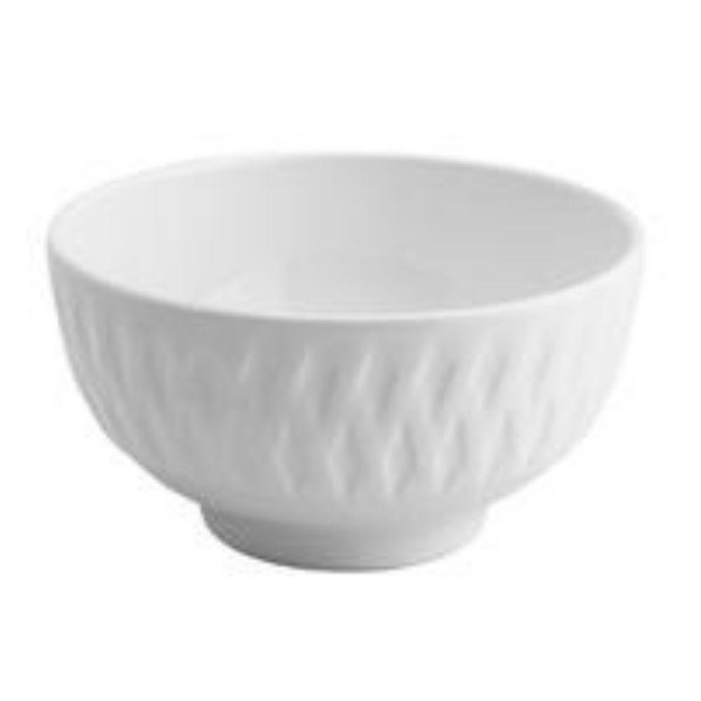 Bowl De Porcelana Balloon Branco - Lyor