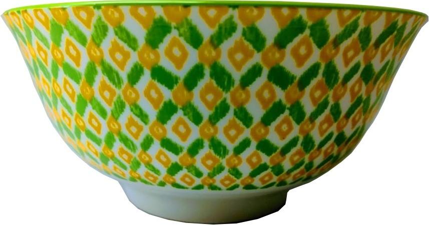 Bowl Grande Estampa Verde