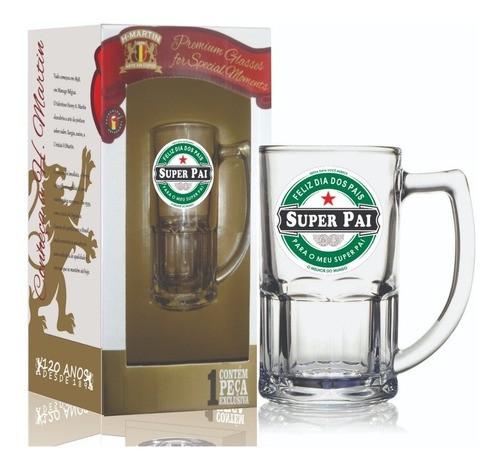 Caneca Bristol Super Pai 340 ml Caixa de Presente