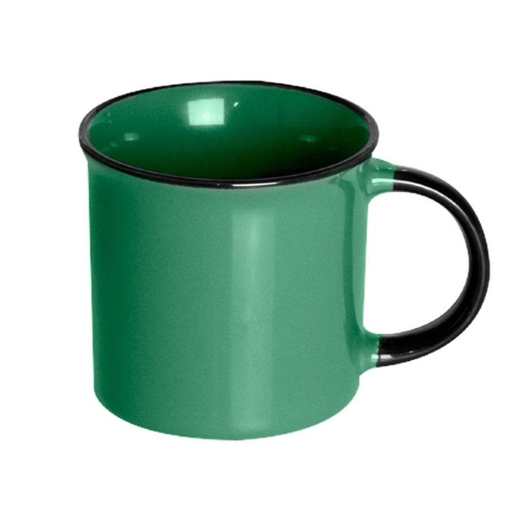 Caneca em Porcelana Lyor Agata 70ml Verde