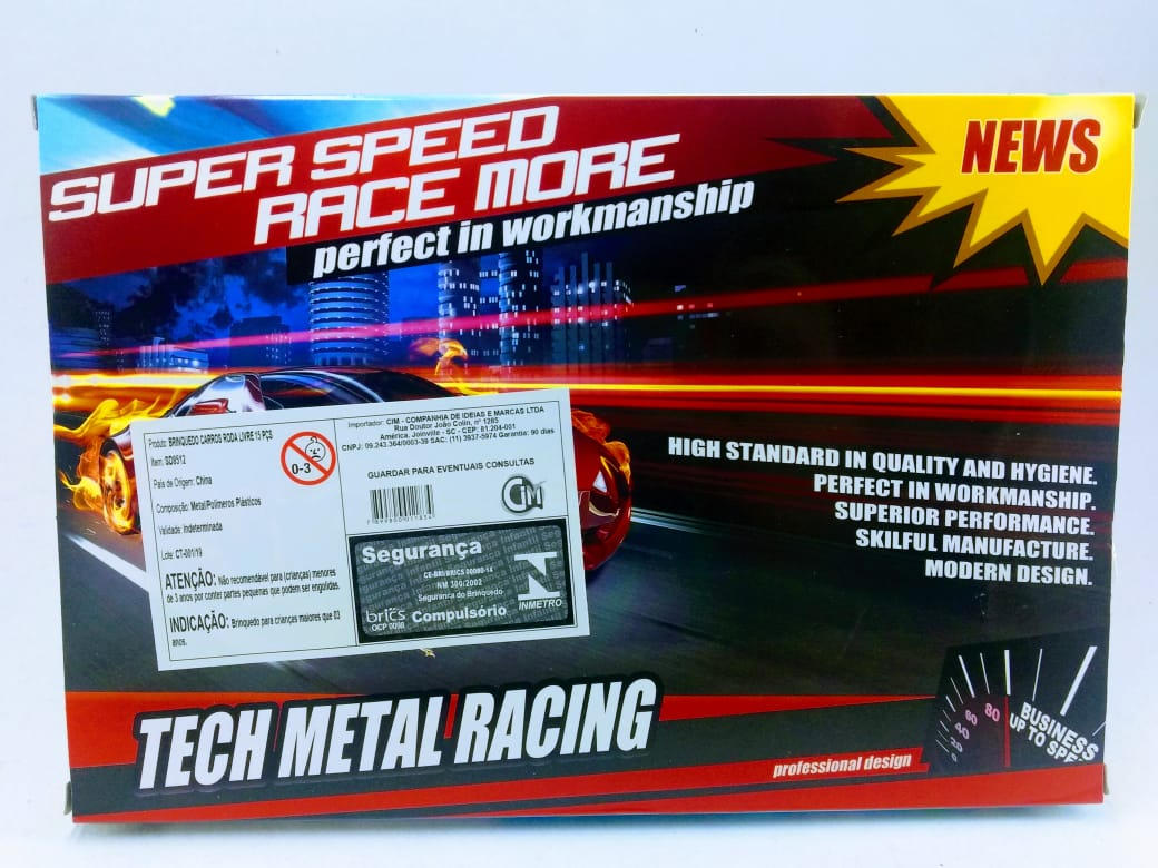 Carro Metal Speed
