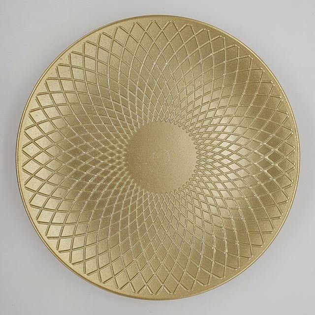 Centro de Mesa Dourado 40 cm