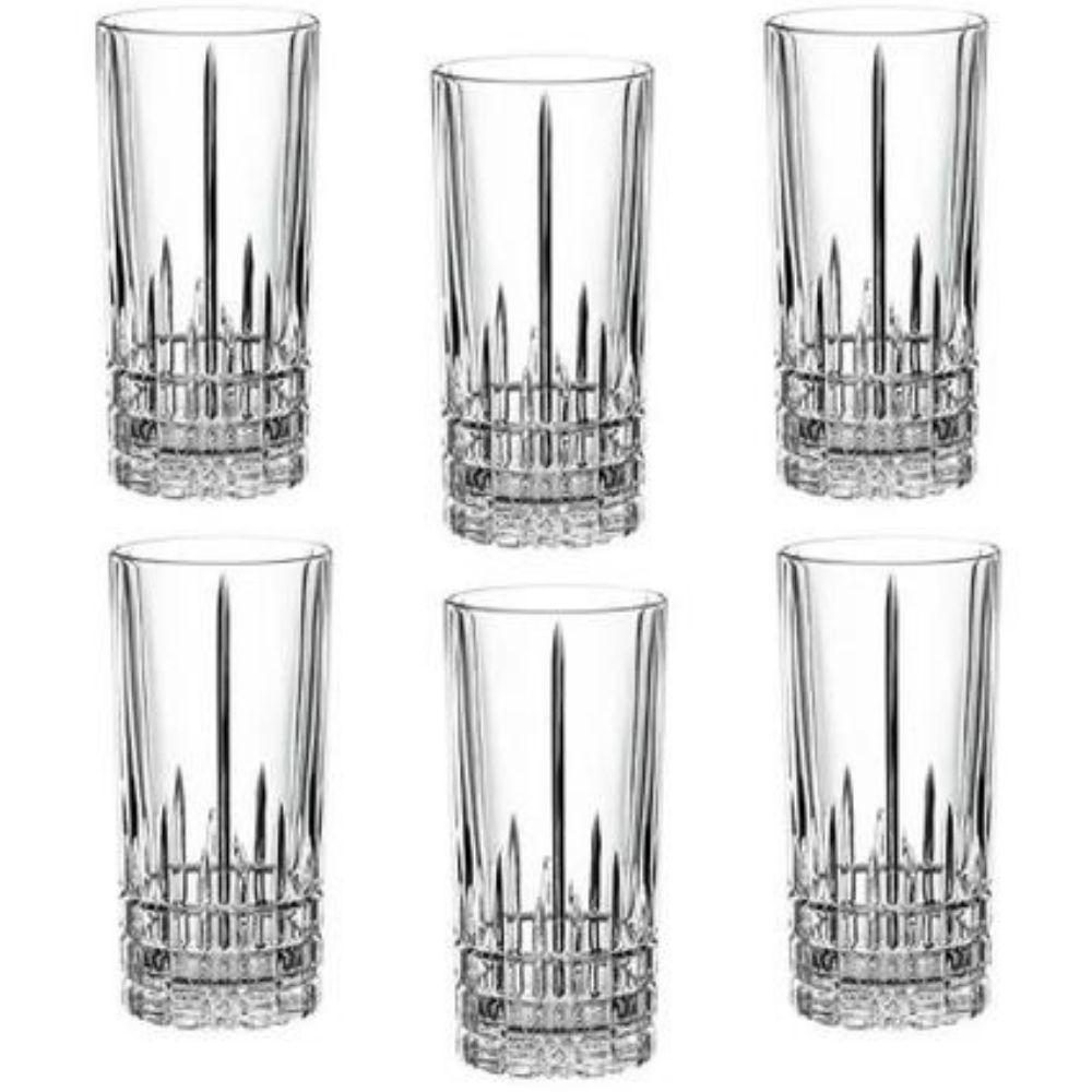 Conjunto 6 Copos de Vidro Simetria 370ml