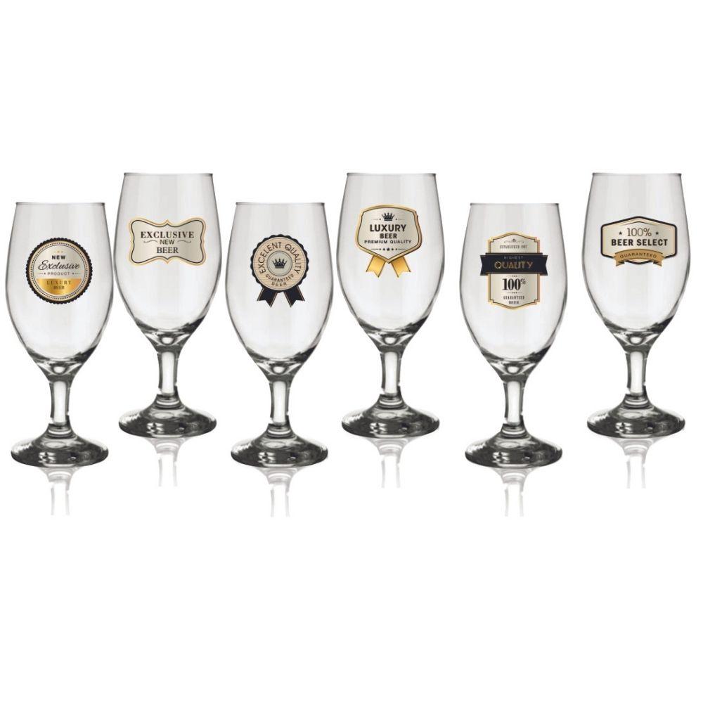 Conjunto 6 Taças Premium Windsor Premium Gold 330ml