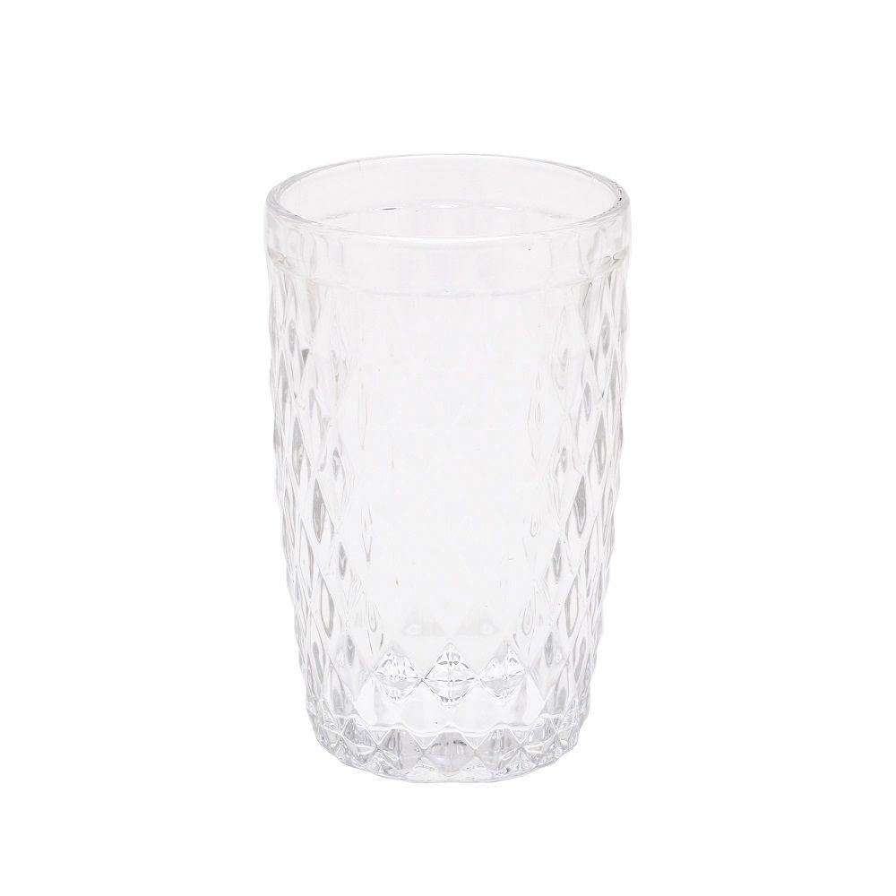 Copo Alto Bico de Abacaxi Transparente 350 ml