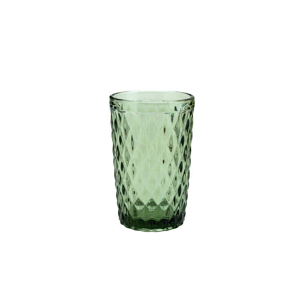 Copo Alto Bico de Abacaxi  Verde 330 ml