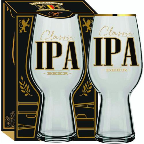 Copo para Cerveja London Classic IPA Filete Ouro