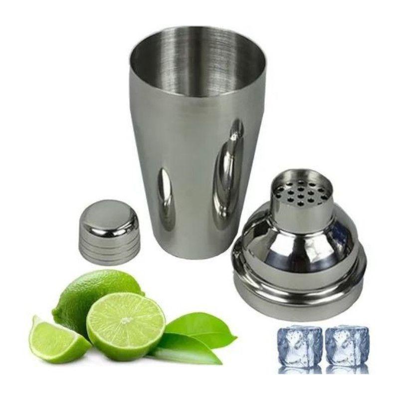 Coqueteleira Inox 350ml Drinks