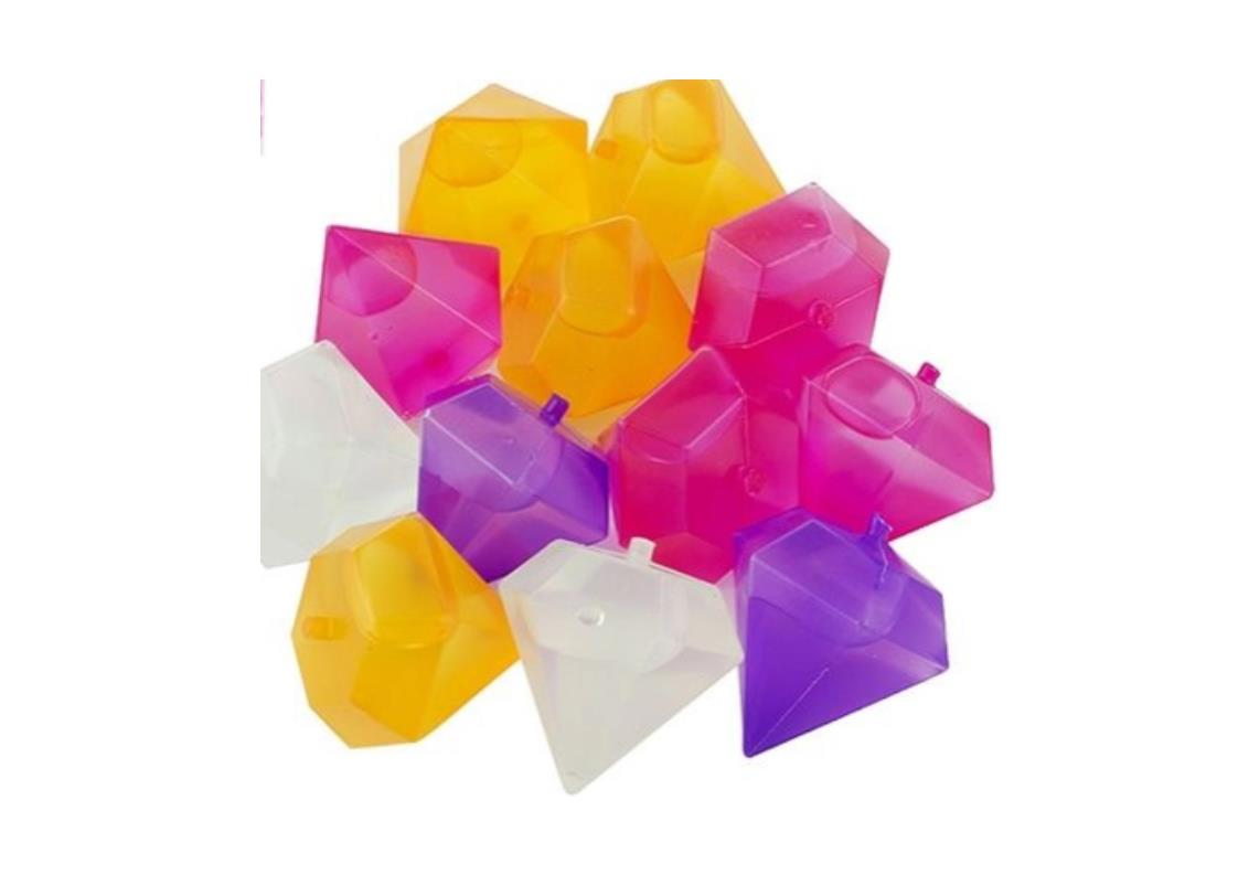 Cubo de Gelo Formato Diamond