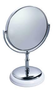 Espelho  Redondo de Mesa com Aumento