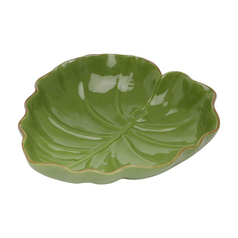Folha decorativa Cerâmica Banana Leaf Pequena