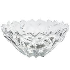Fruteira de Vidro Transparente Dolce Home