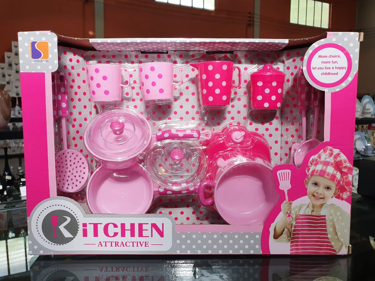 kit Cozinha Infantil Kitchen Atractive